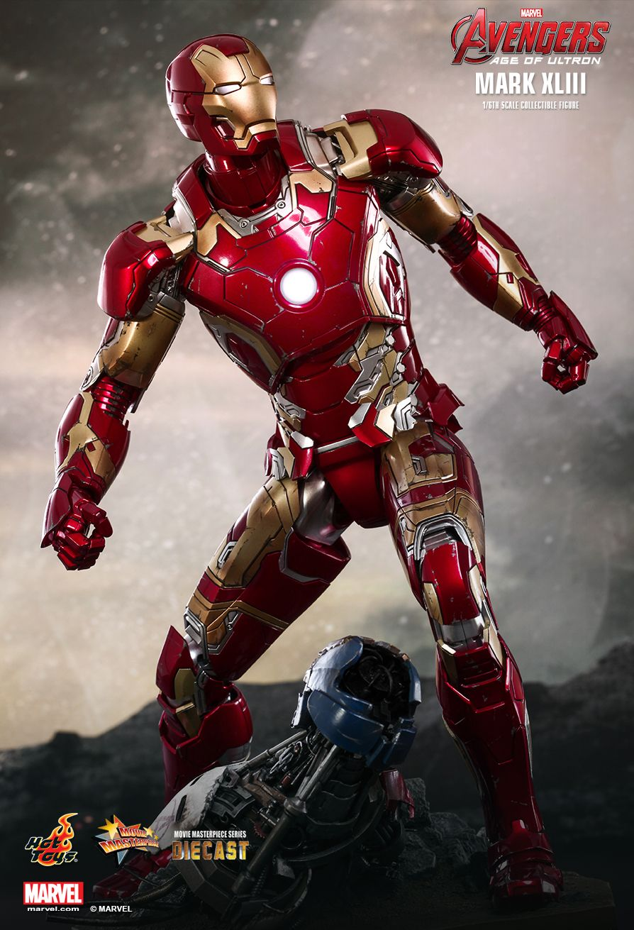 Hot Toys - Iron Man Mark XLIII (43)  Avengers: Age of Ultron - Movie Masterpiece Series