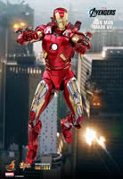 Iron Man Mark VII MK7  DIECAST - The Avengers - Movie Masterpiece Series Sixth Scale Figure by Hot Toys