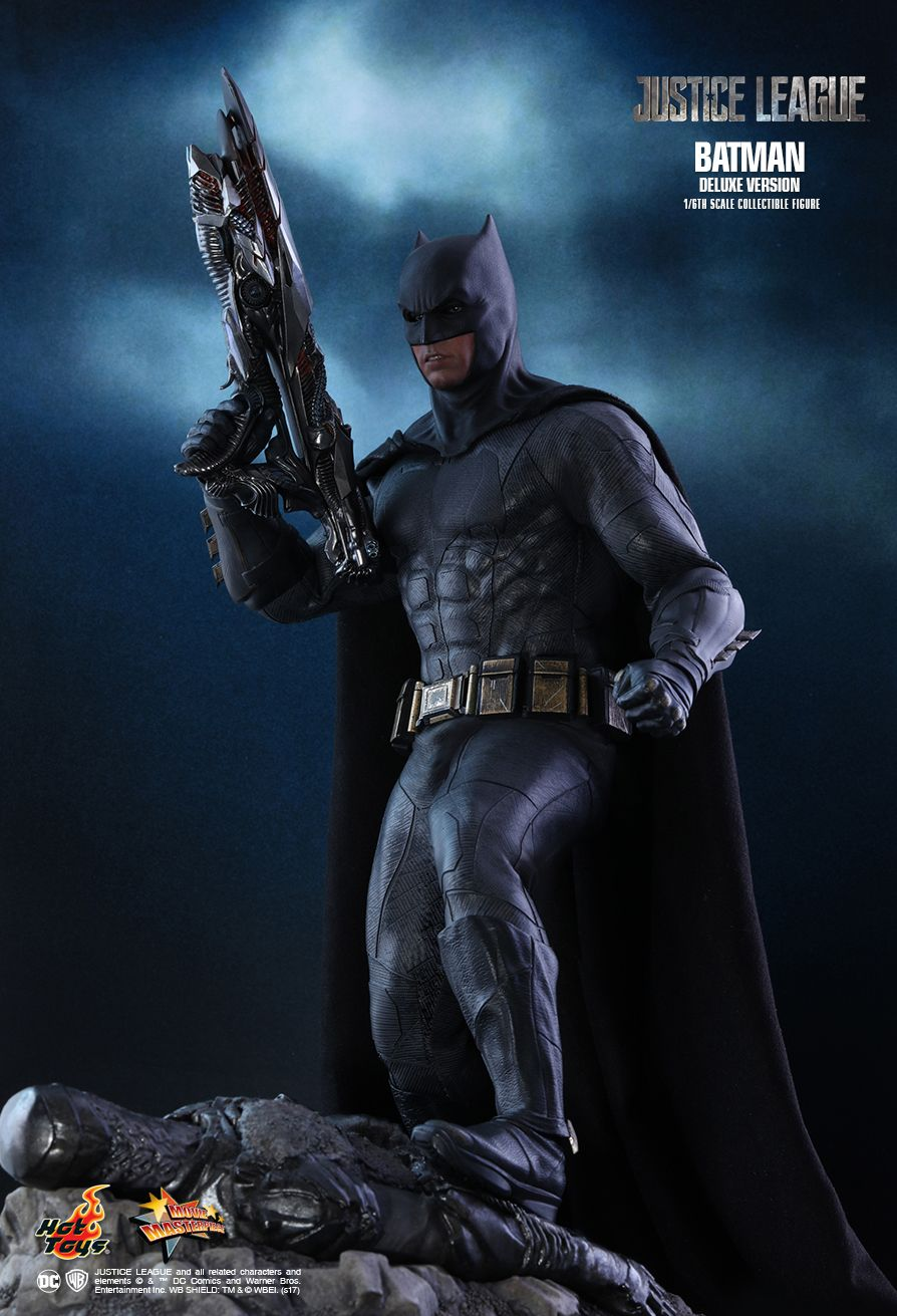 Batman  Sixth Scale Figure by Hot Toys  Justice League - Movie Masterpiece Series