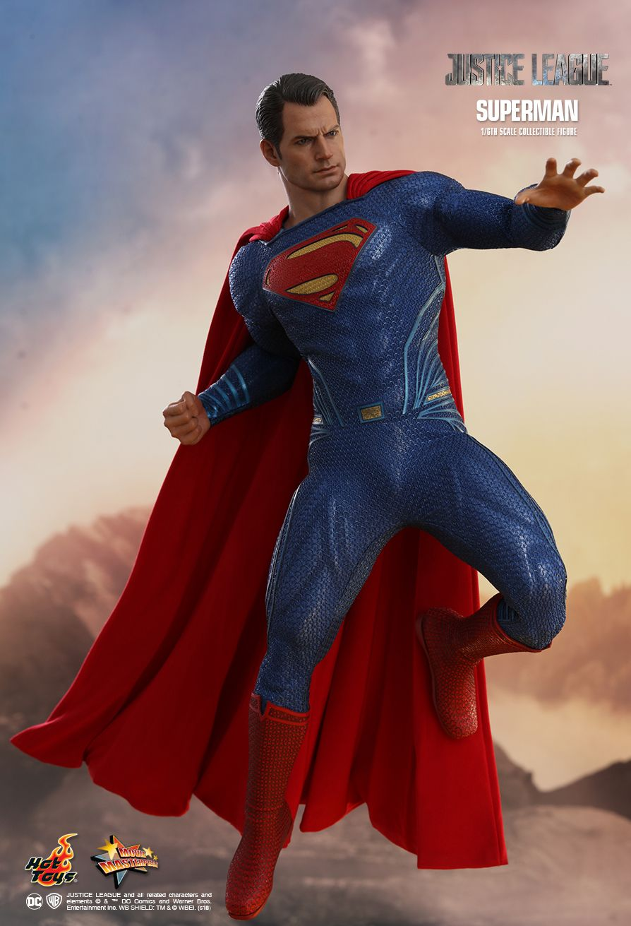 Superman  Sixth Scale Figure by Hot Toys  Justice League - Movie Masterpiece Series