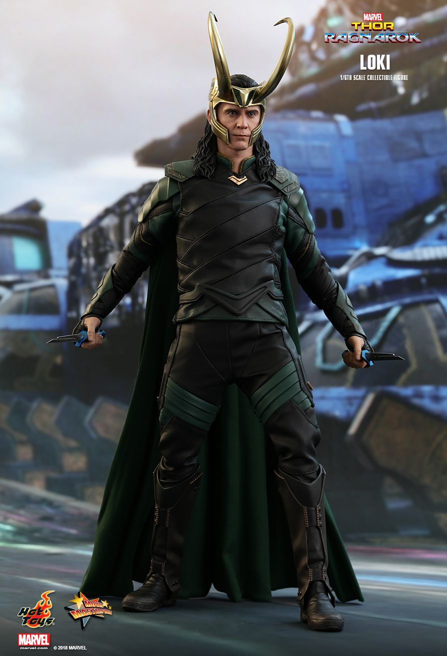 Loki  Sixth Scale Figure by Hot Toys  Thor: Ragnarok - Movie Masterpiece Series