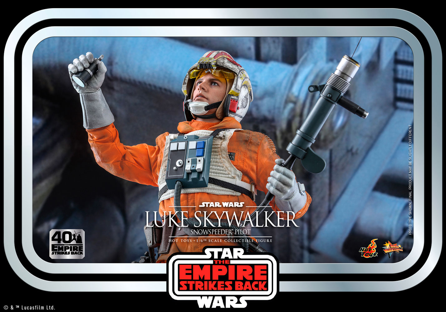 Luke Skywalker - Snowspeeder Pilot  Star Wars: The Empire Strikes Back 40th Anniversary Collection - Movie Masterpiece Series