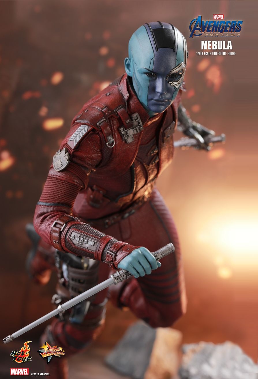 Nebula   Sixth Scale figure by Hot Toys  Guardians of the Galaxy Vol 2