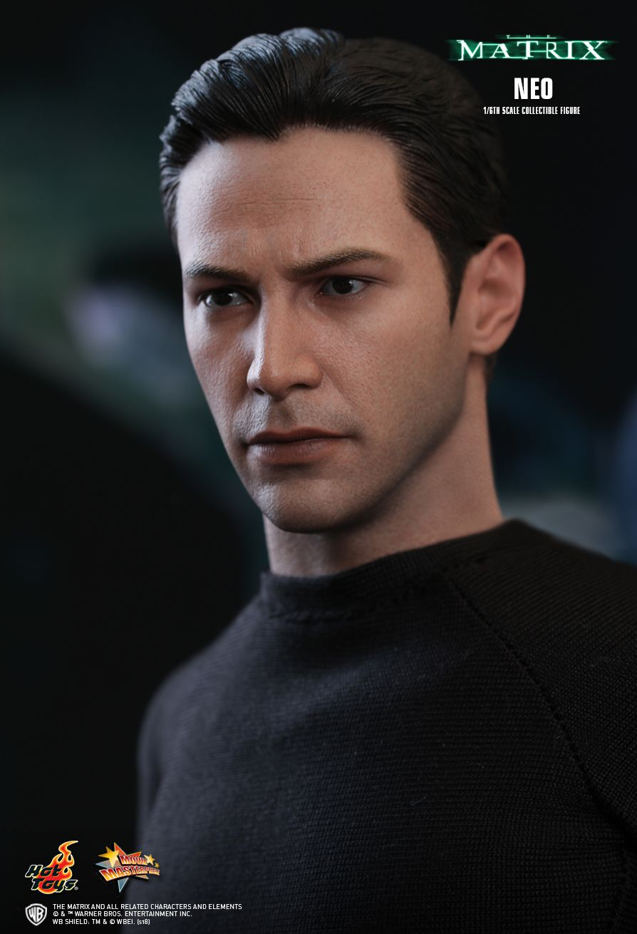 Neo - The Matrix  Sixth Scale Figure by Hot Toys  Movie Masterpiece Series