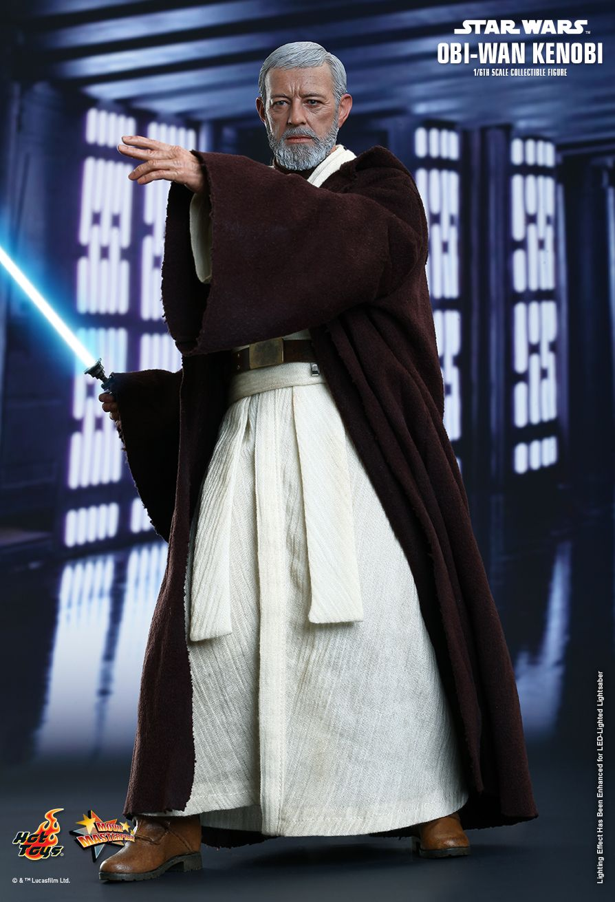 Obi-Wan Kenobi Sixth Scale Figure by Hot Toys Episode IV: A New Hope