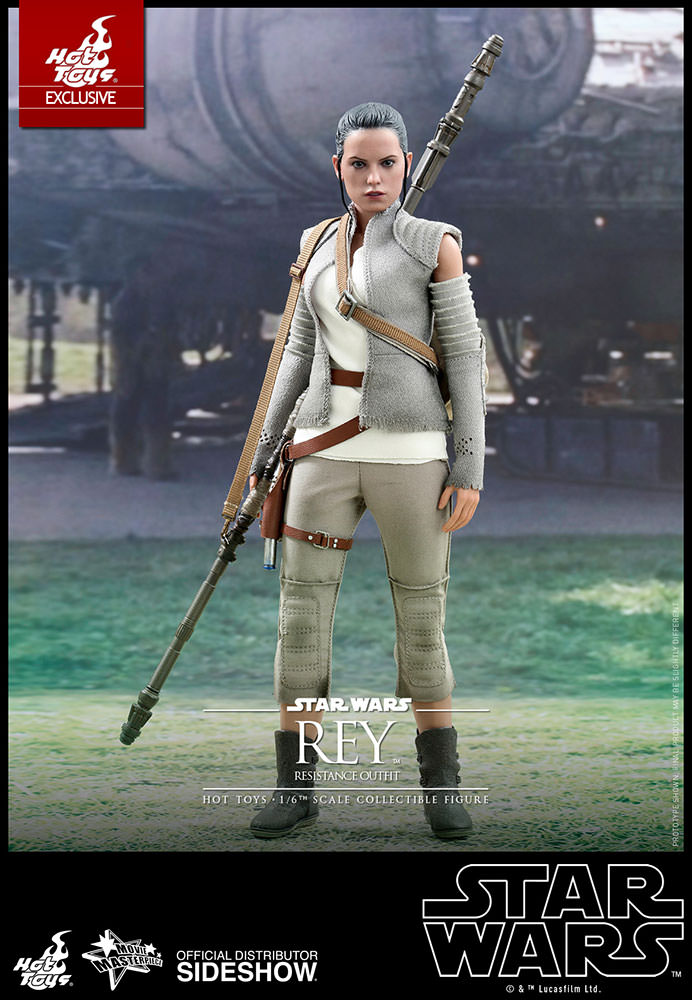Rey (Resistance Outfit) Exclusive Sixth Scale Figure by Hot Toys