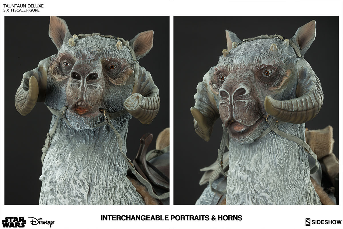 Deluxe Tauntaun Sixth Scale Figure by Sideshow Collectibles Star Wars Episode V: The Empire Strikes Back