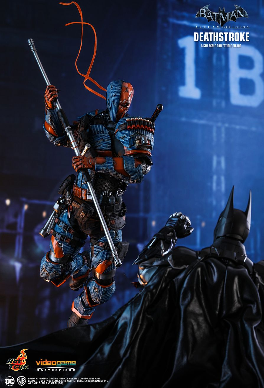 Deathstroke: Arkham Origins  Sixth Scale Figure by Hot Toys  Video Game Masterpiece Series