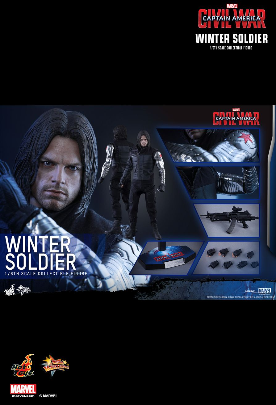Winter Soldier Sixth Scale Figure by Hot Toys