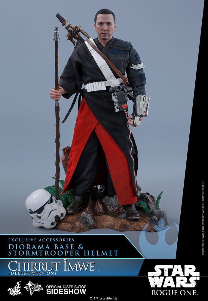 Chirrut Îmwe (Deluxe Version) Sixth Scale Figure by Hot Toys