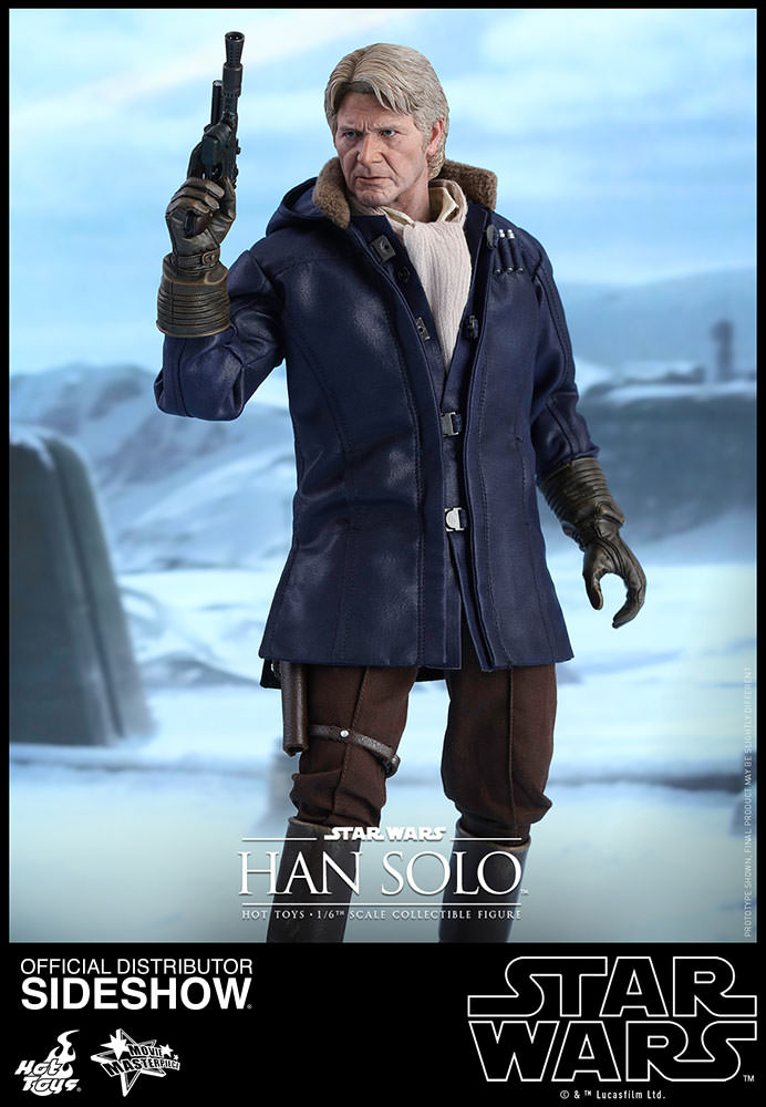 Han Solo - Force Awakens Sixth Scale Figure by Hot Toys