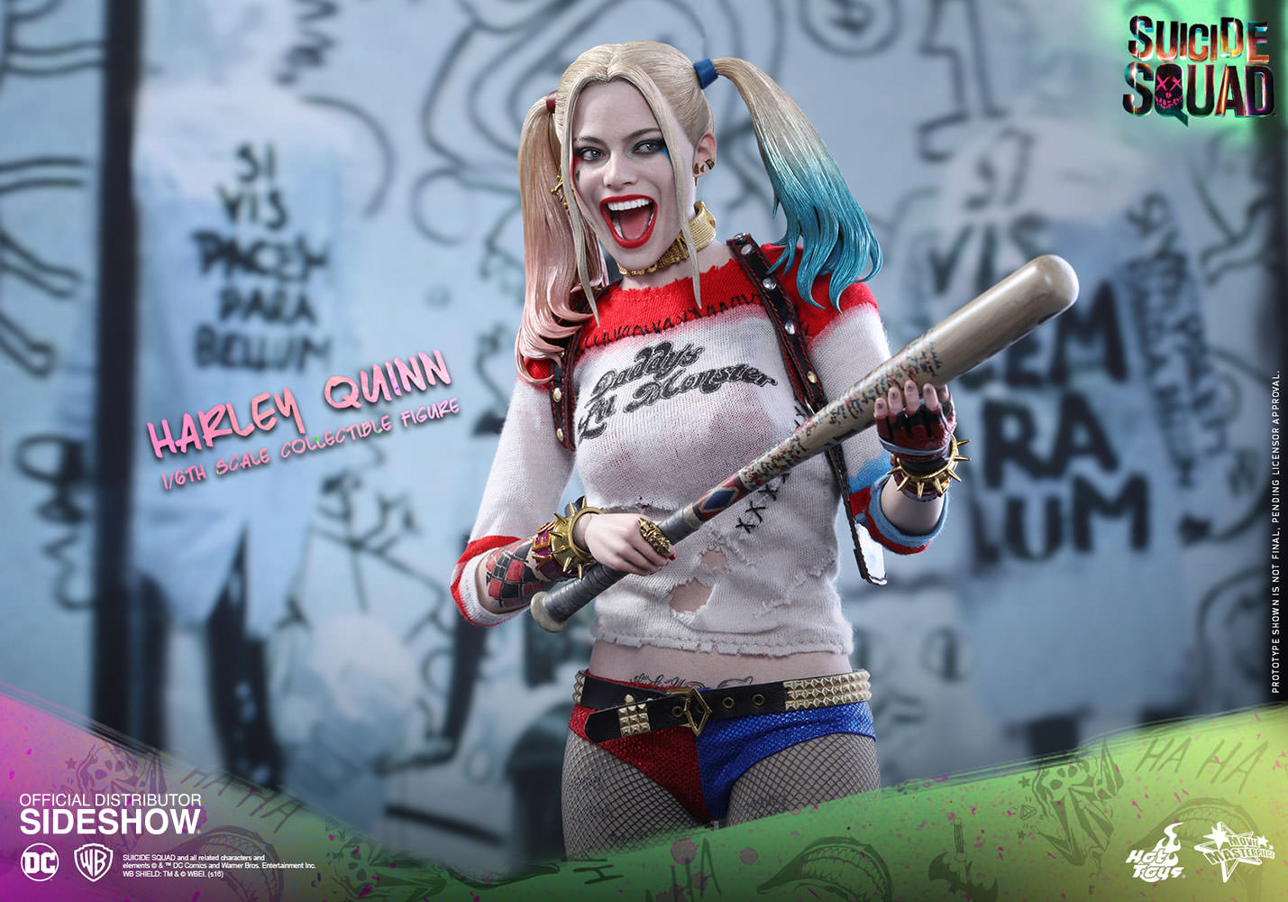 Harley Quinn Sixth Scale Figure by Hot Toys