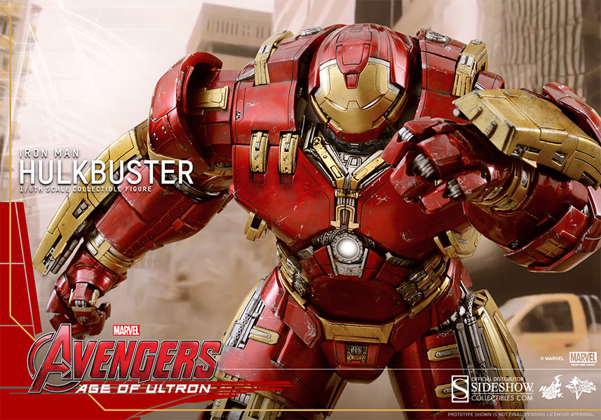 Hulkbuster Sixth Scale Figure by Hot Toys