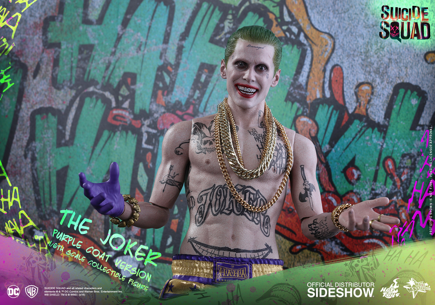 The Joker (Purple Coat Version) Sixth Scale Figure by Hot Toys