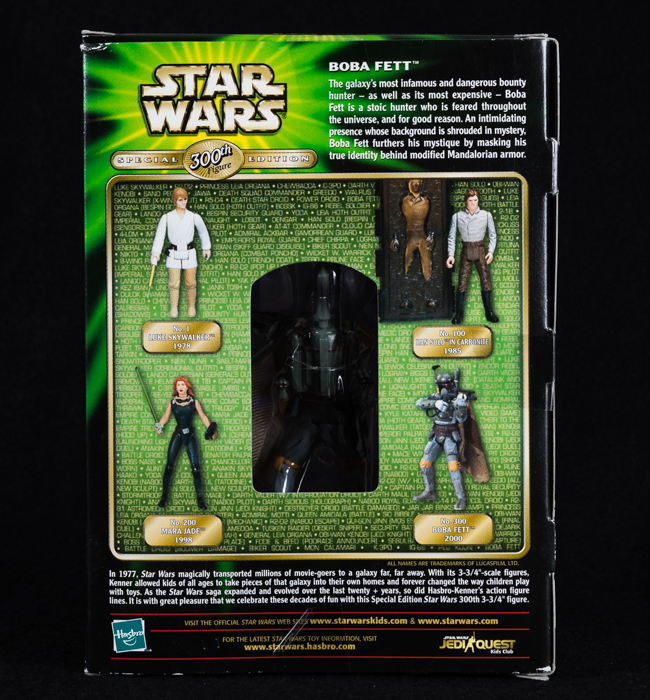 Boba Fett - 300th Special Edition Figure