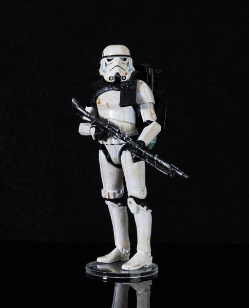 "Clear Figure Stands for 6"" Star Wars Black Series Action Figures"