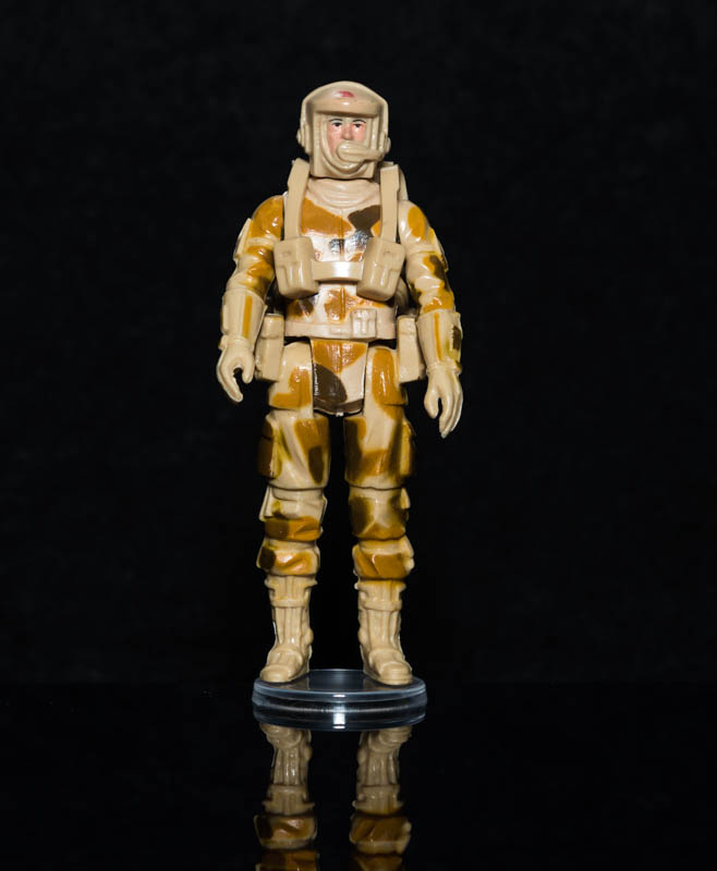 Small Clear Figure Stands for Modern Action Figures & Vintage Action Force Figures