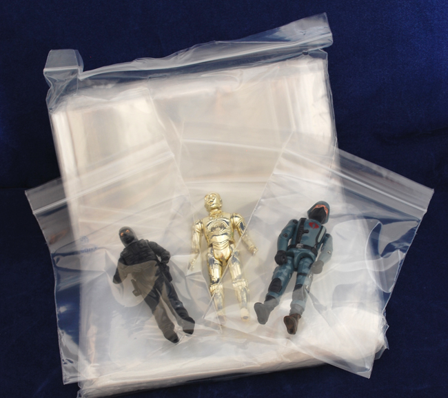 Action Figure & Accessories Storage Bags