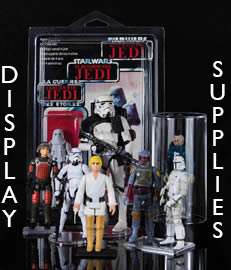 Action Figure Display & Storage Supplies