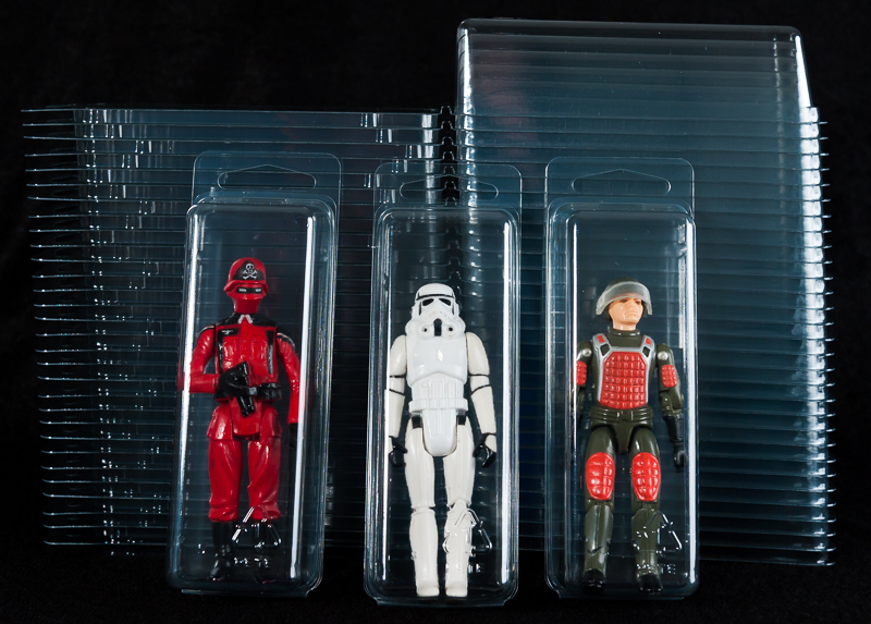 Loose Action Figure  Clamshell Cases