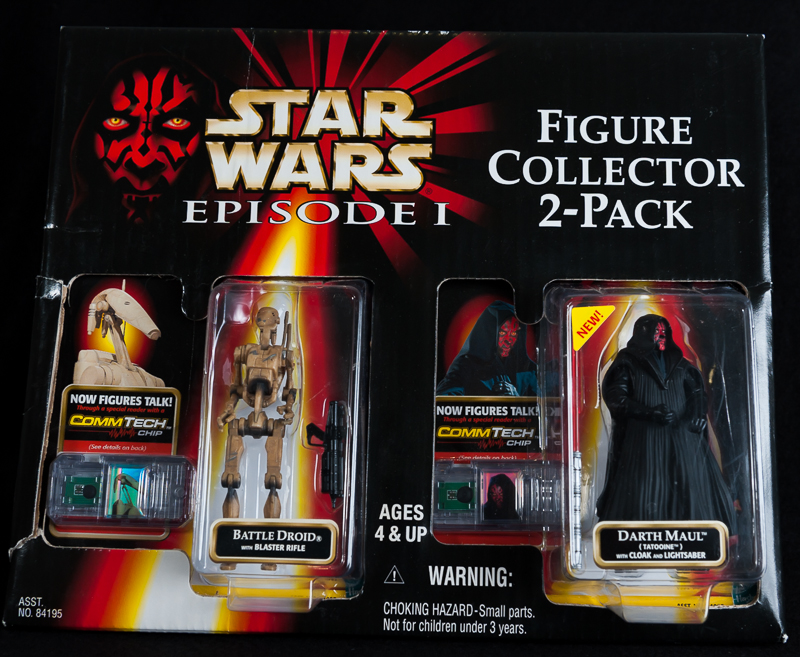 Battle Droid & Darth Maul - EPS 1 Factory Sample
