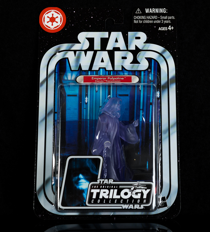 Star Wars Holographic Emperor Palpatine
