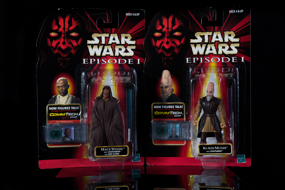 Star Wars Mace Windu & ki-Adi-Mundi