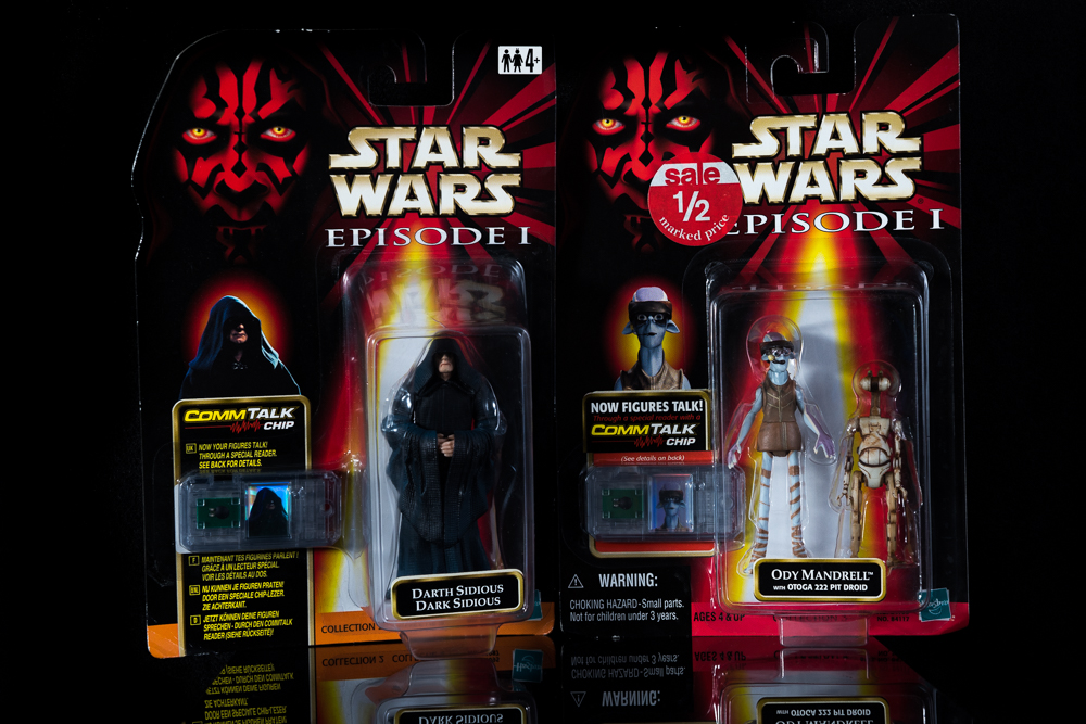 Star Wars Darth Sidious & Ody Mandrell with Pit Droid