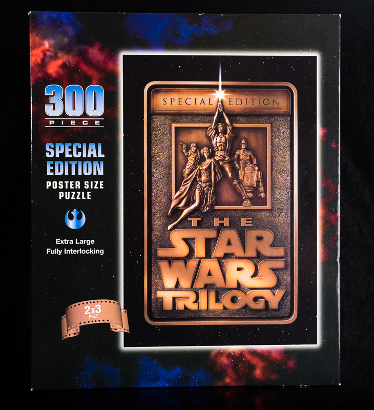 Special Edition Star Wars Poster Size Puzzle