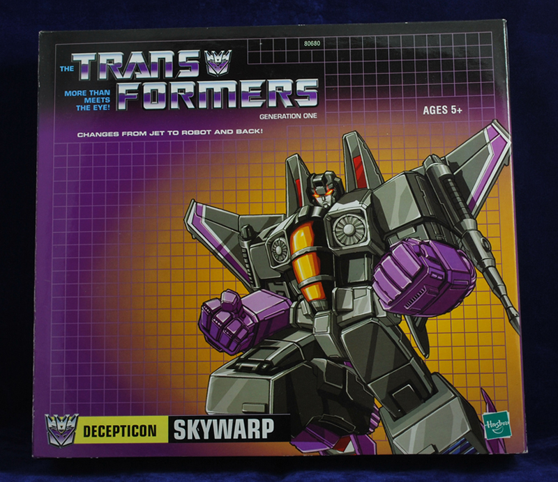 Skywarp - Generation 1 Re-issue